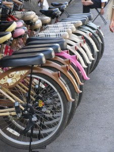 Ayuttaya op de fiets